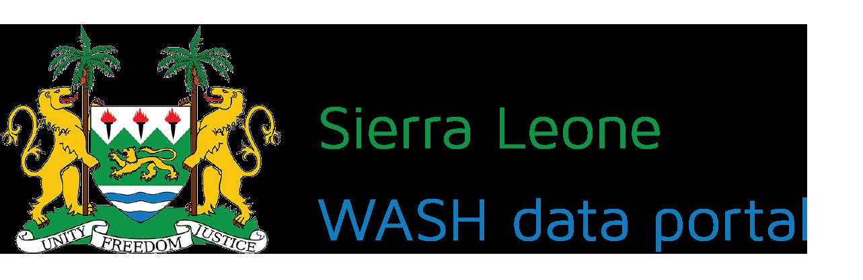 WASH data Sierra Leone